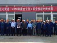 2018年度竞道节——公司举行焊工技能比武